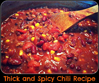 Thick and Spicy Chili