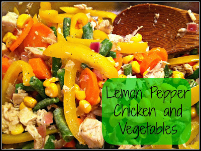 Lemon Pepper Chicken and Vegetable Stir Fry