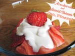 Simple Strawberries and Sweet Cream