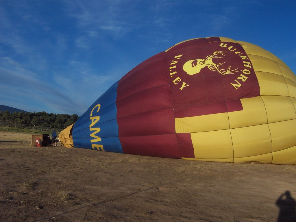 Our Honeymoon Hot Air Balloon Ride