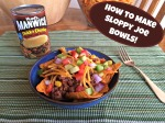 How to Make Sloppy Joe Bowls with Manwich