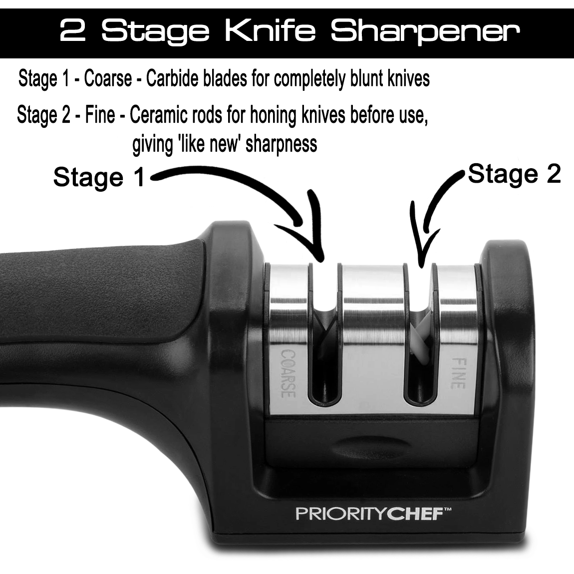prioritychef knife sharpener review living a sunshine life. Black Bedroom Furniture Sets. Home Design Ideas