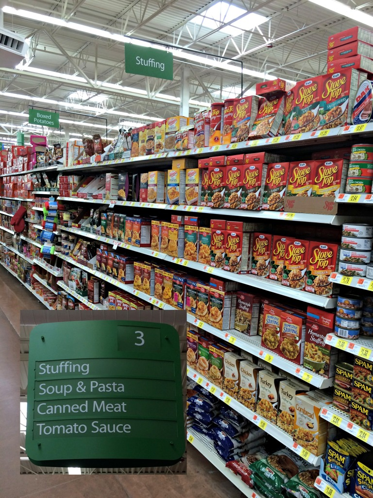 Stove Top Stuffing Aisle