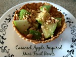 Caramel Apple Inspired Mini Fruit Bowls