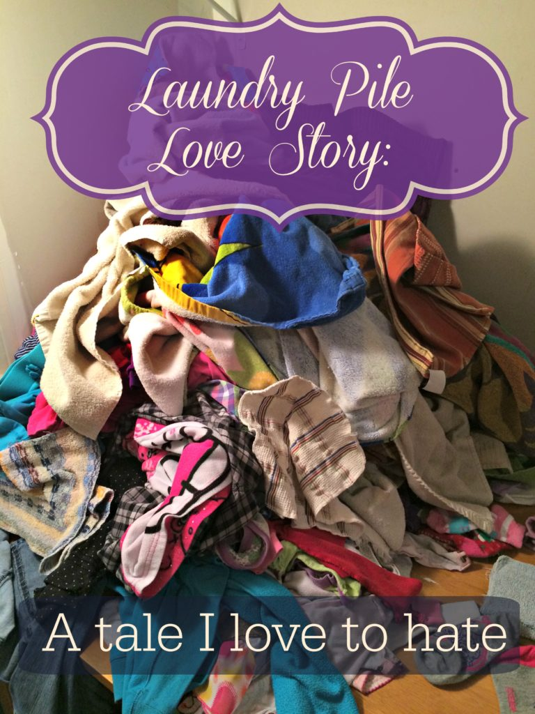 Laundry Pile Love Story