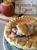 Caramel Apple Crisp Stuffed Apples with Marie Callender's Pot Pies