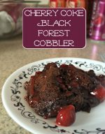 Cherry Coke Black Forest Cobbler Recipe