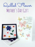 Quilled Flower Mother's Day Gift