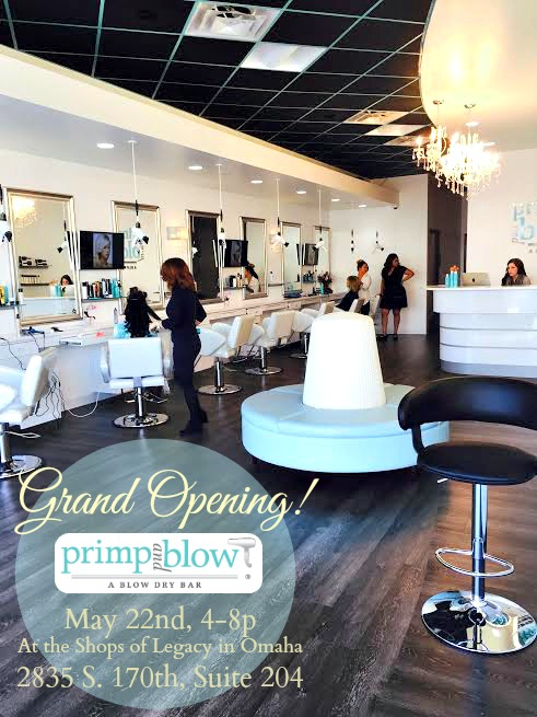 Primp and Blow Salon title