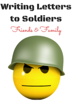 Writing Letters to Soldiers: Friends and Family