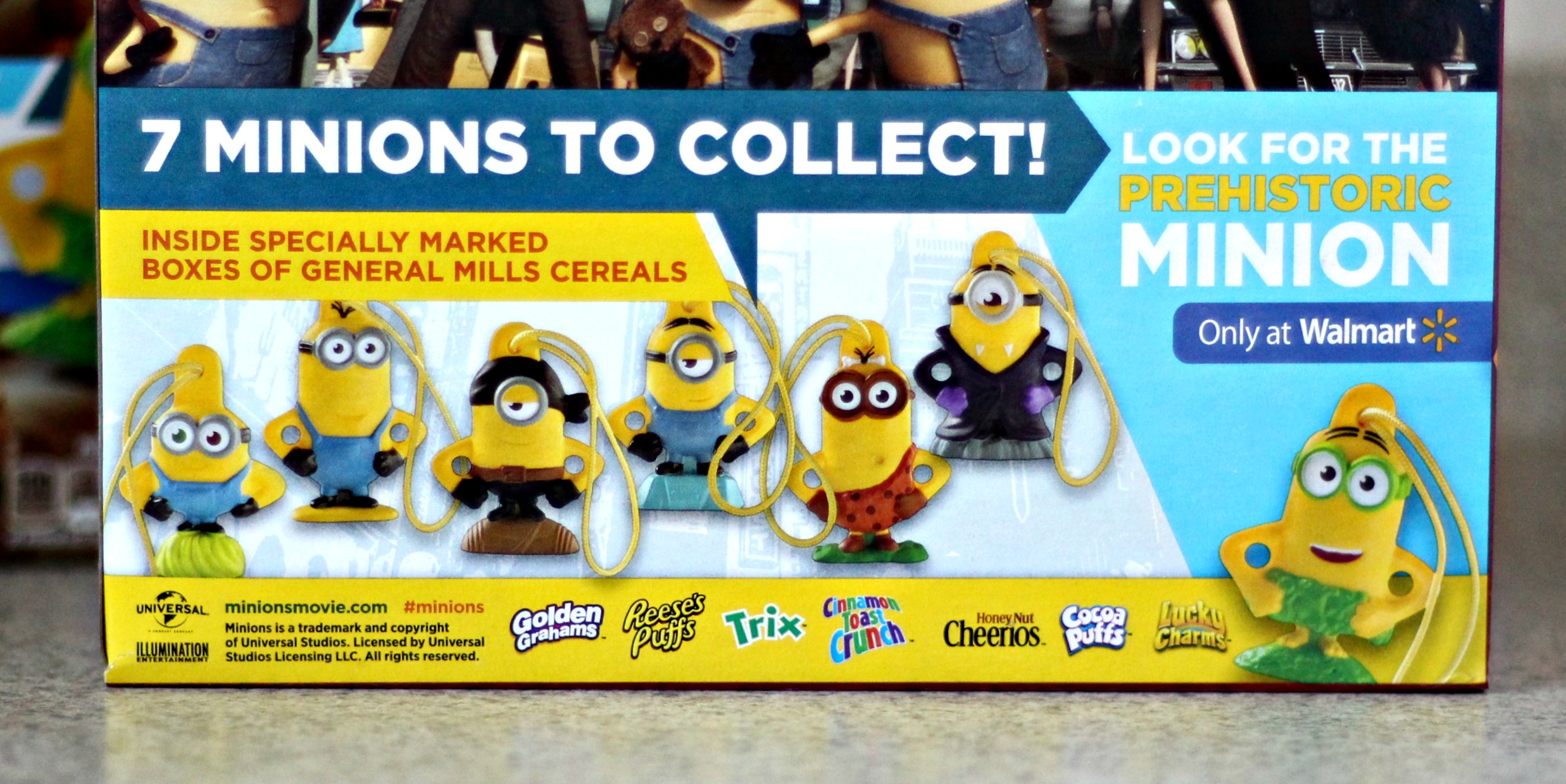 Treasures inside the Cereal Box