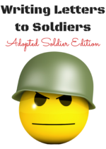 Writing Letters to Soldiers: Adopted Soldier Edition