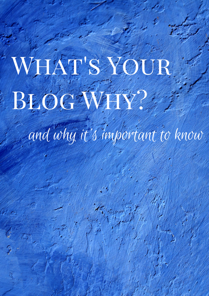 It is important to know your blog why! This post gives some great tips and definitions about the blog why and why you need to identify yours.