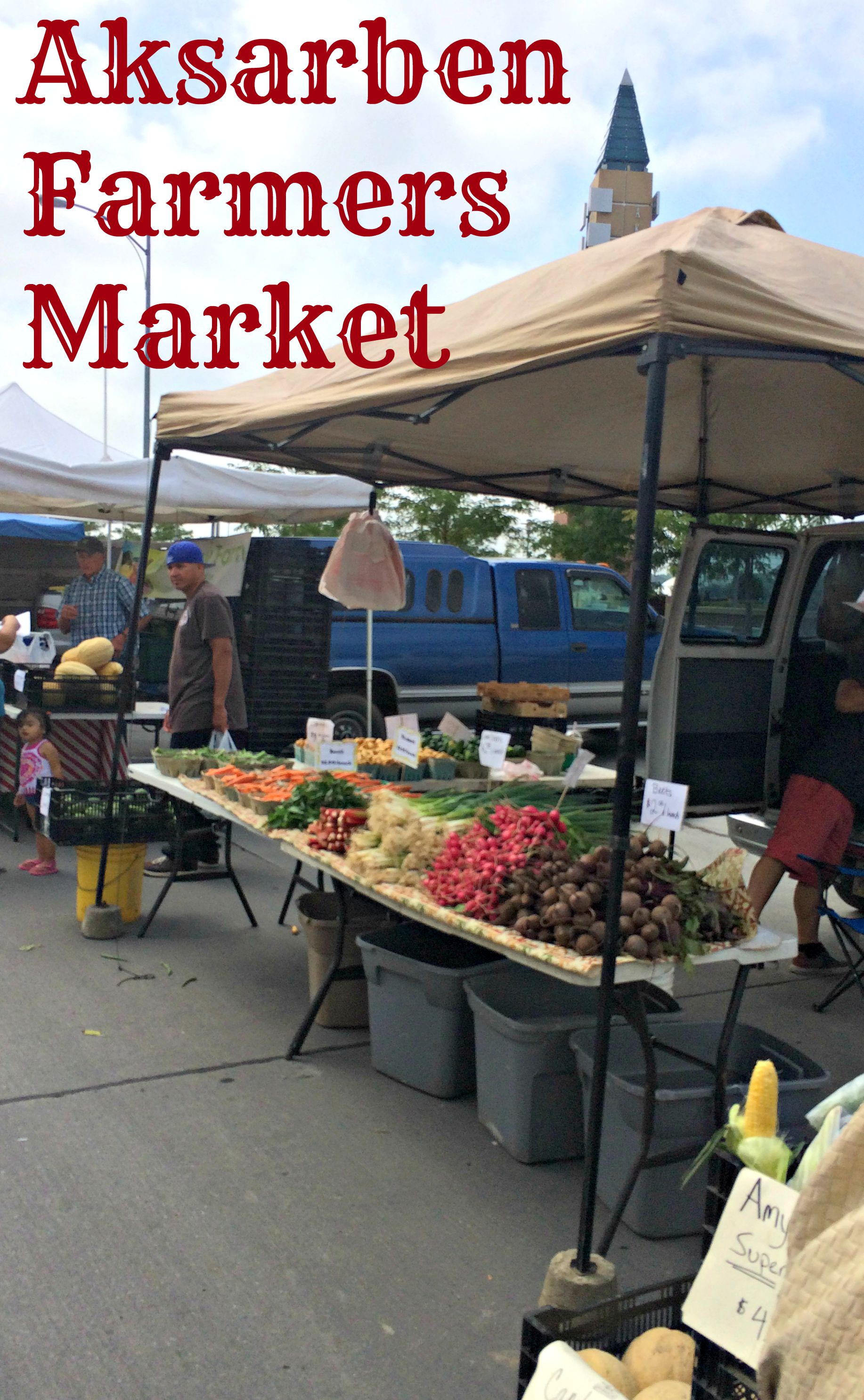 Visiting the Aksarben Farmers Market