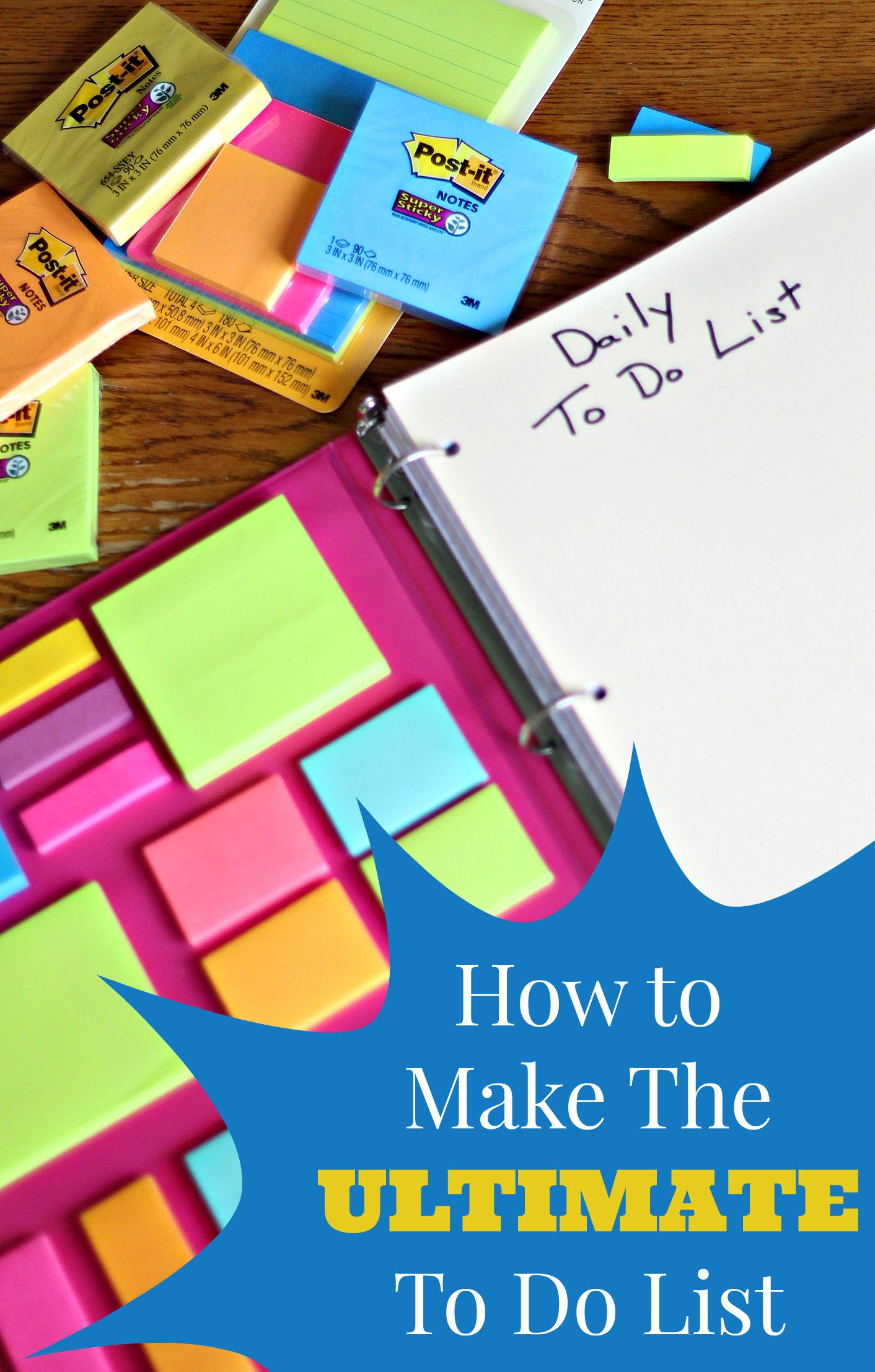 How to Make the Ultimate To Do List