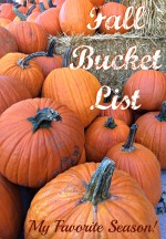 Fall Bucket List with Printable