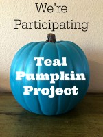 We're Participating in the Teal Pumpkin Project