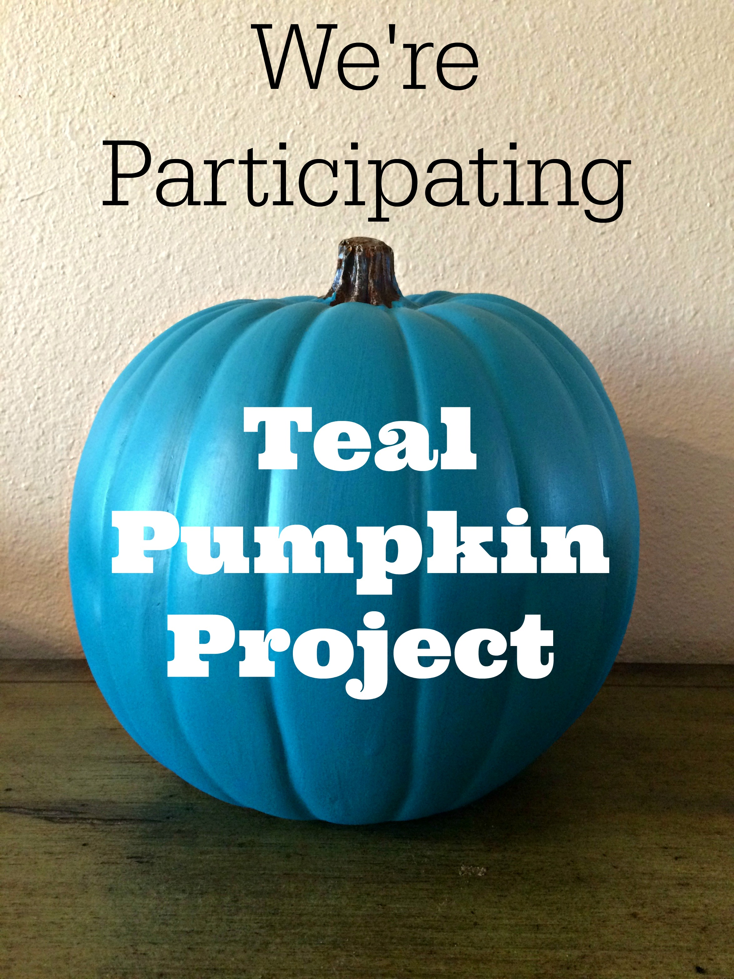 It's just a picture of Stupendous Teal Pumpkin Printable