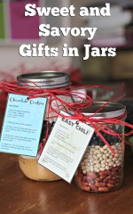 Sweet and Savory Gifts in Jars