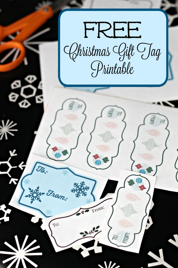Free Christmas Gift Tag Printable