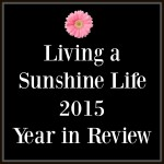 Living a Sunshine Life 2015 Year in Review