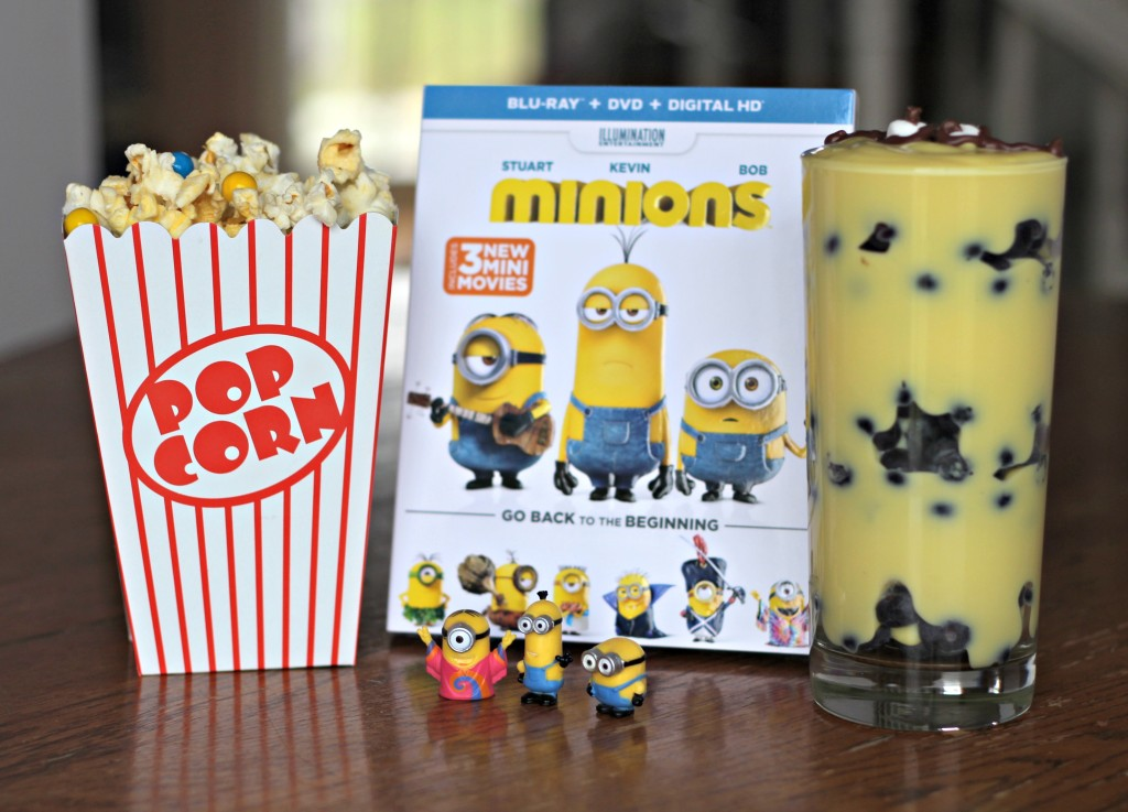 Celebrate the Minions movie with these delicious parfaits. #MinionsMovieNight ad