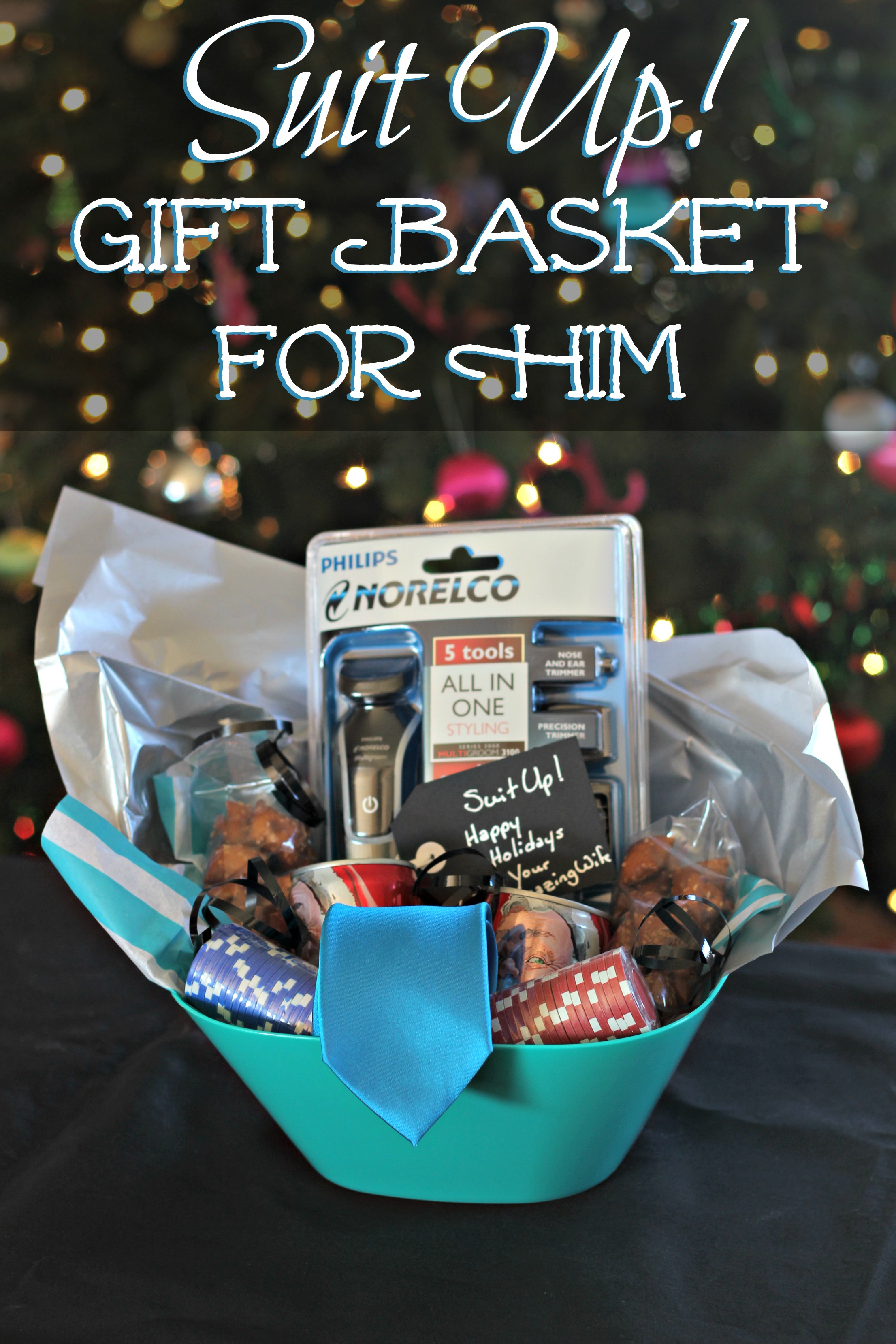 Gifts For 17 Year Old Girls Don T Break The Bank: Suit Up! Gift Basket For Him