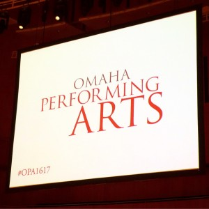 Omaha Performing Arts 16/17 Season Reveal!!