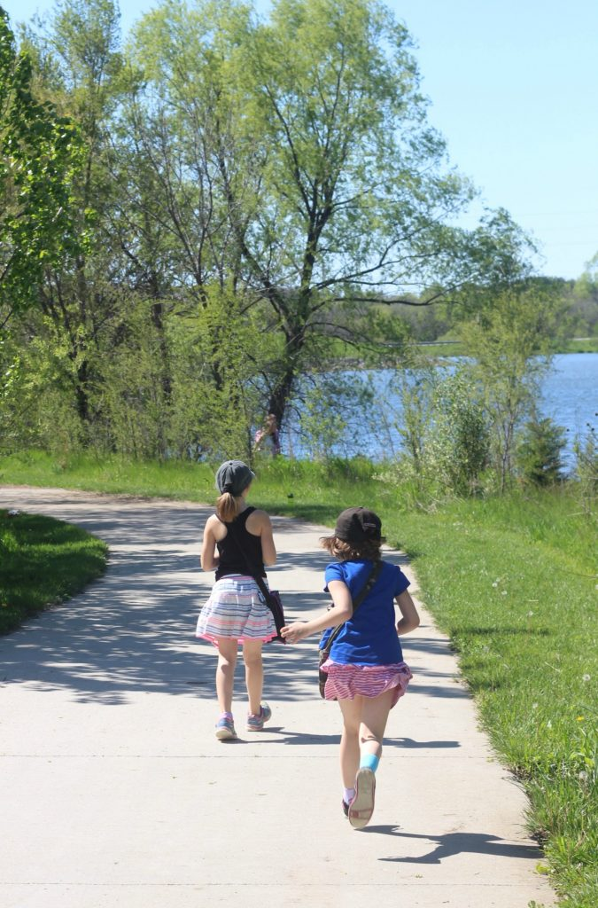 Any time spent with family can be quality time. This time we went on a geocaching adventure! #PoiseLinerLove Ad