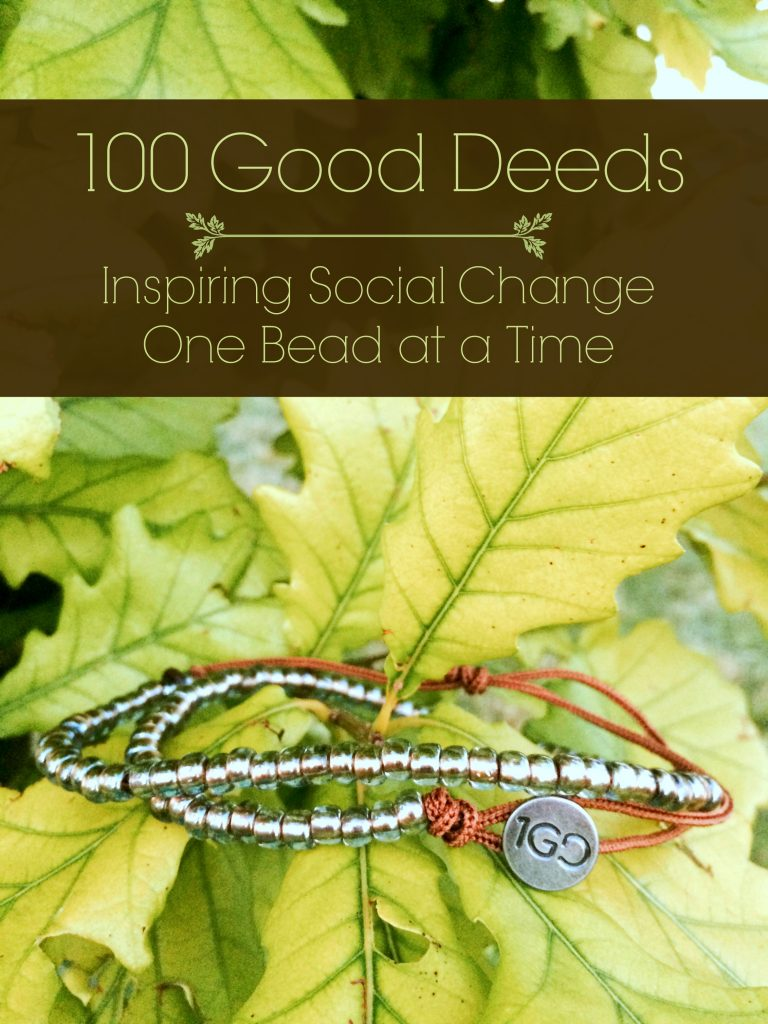 100 Good Deeds: Inspiring Social Change One Bead at a Time. ad #100GoodDeeds