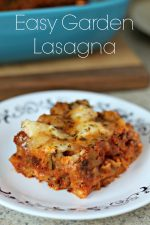 Easy Garden Vegetable Lasagna