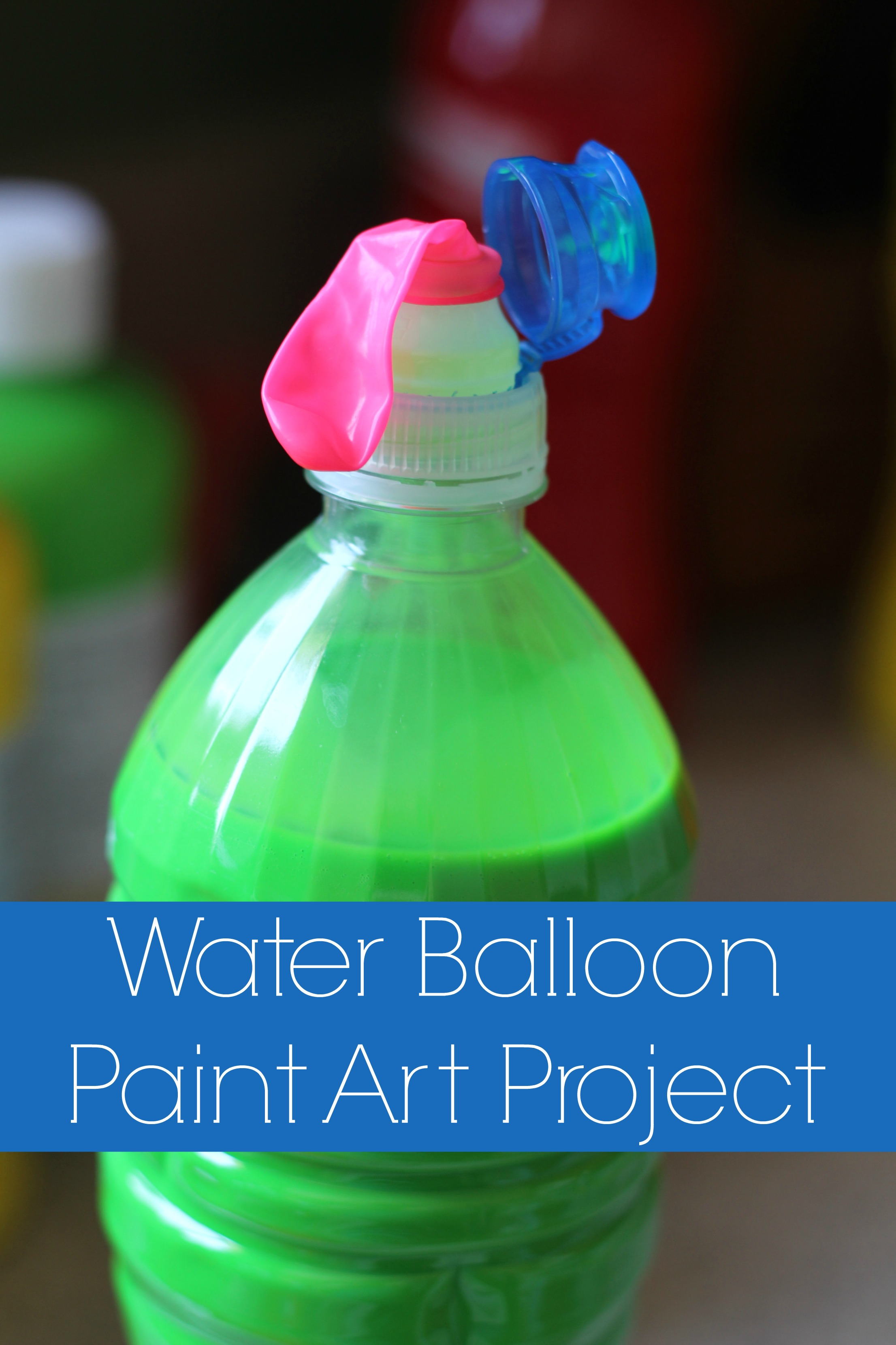 Water Balloon Paint Art Project