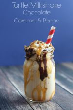 Turtle Milkshake Chocolate Caramel and Pecan