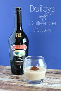 Baileys with Coffee Ice Cubes