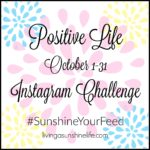 October #SunshineYourFeed Instagram Challenge