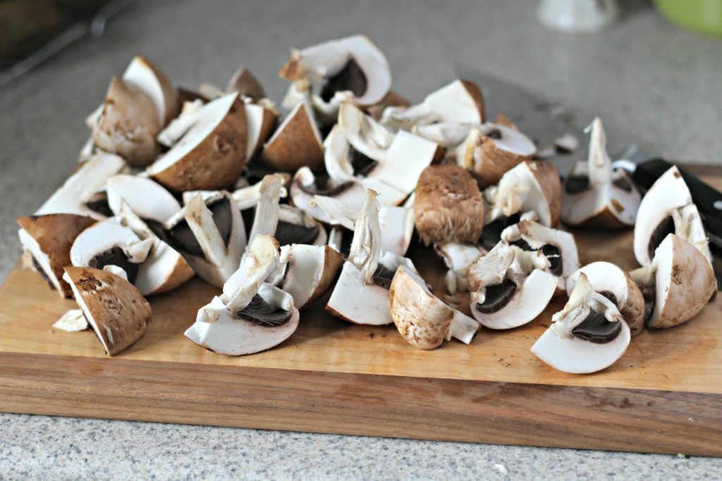 An easy sauteed mushroom recipe to bring out their fantastic earthy flavor paired with the sweetness of a simple garlic wine sauce.
