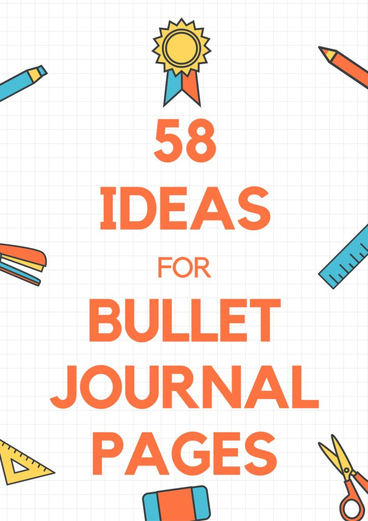 So many possibilities for bullet journal pages! Love this collection of page ideas to get the inspiration going.