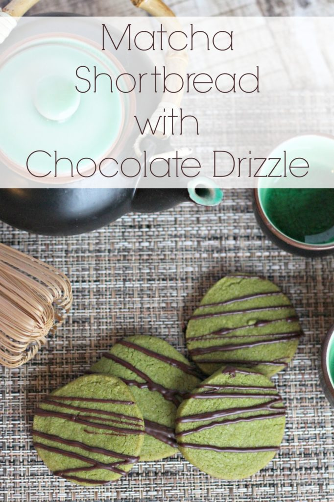 These are perfect to have around the house for a quick taste of green tea. Beautiful cookies!