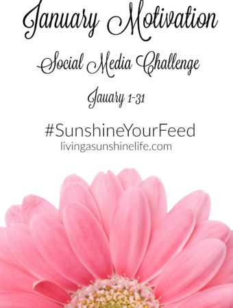 January #SunshineYourFeed Motivation Challenge