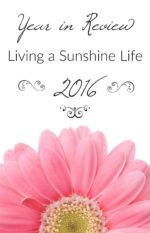 Living a Sunshine Life Year in Review 2016