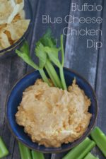 Buffalo Chicken Blue Cheese Dip