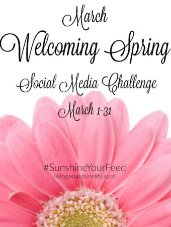 March #SunshineYourFeed Challenge