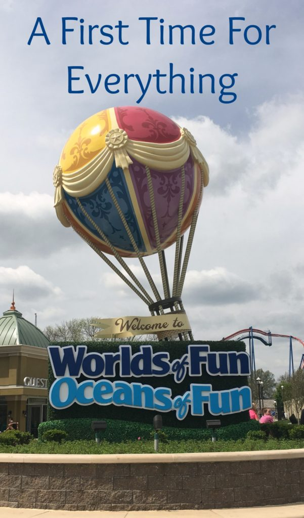 It doesn't matter if you've gone there for years or if this is your first time; there will be first time experiences for everyone at Worlds of Fun! This post gives some great ideas. #ad #WorldsofFun #WeOwnFun #OpeningWeekend2017