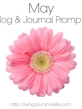 May Blog & Journal Prompts