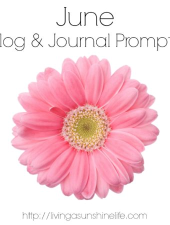 Relaxation Blog and Journal Prompts