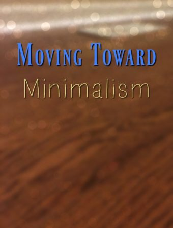 Moving Toward Minimalism