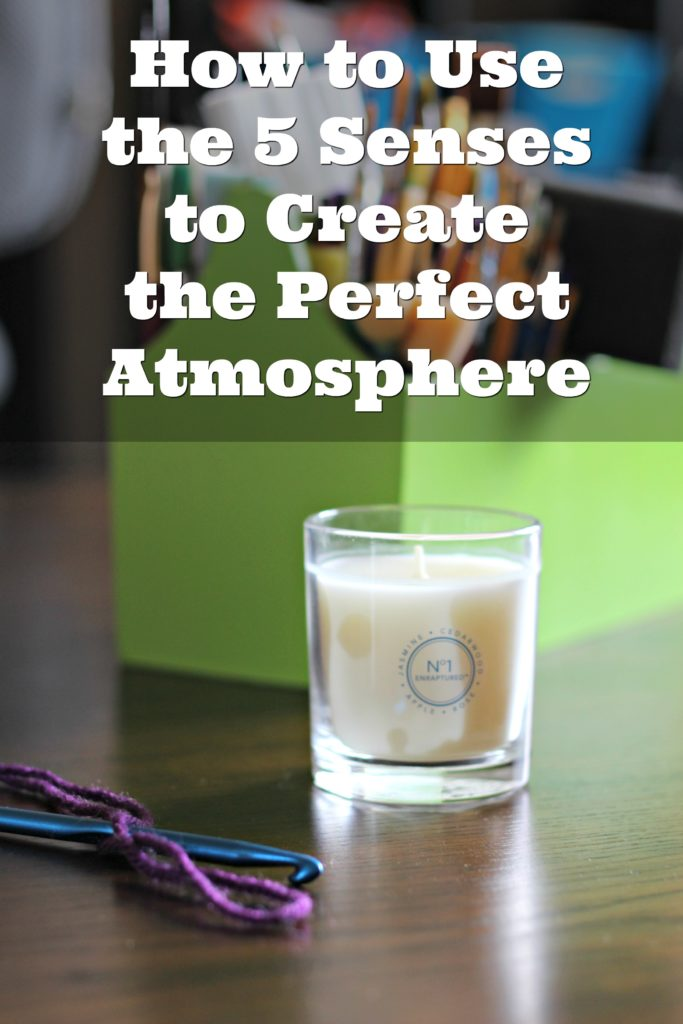 Use the 5 senses to create the perfect mood for any room. #GladeAtmosphere #ad