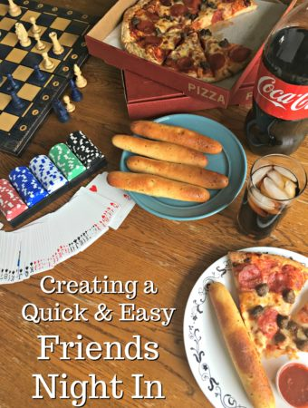 Creating a Quick and Easy Friends Night In
