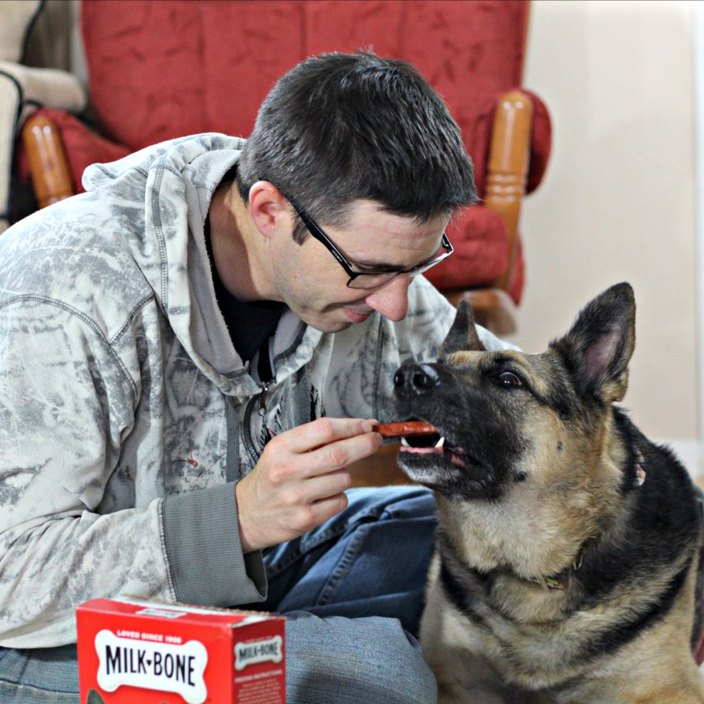 Dogs do a lot more than just sit around all day. They do a lot for the people who invite them into their lives. Dogs make a difference. #Ad #DogsAreMore #IC