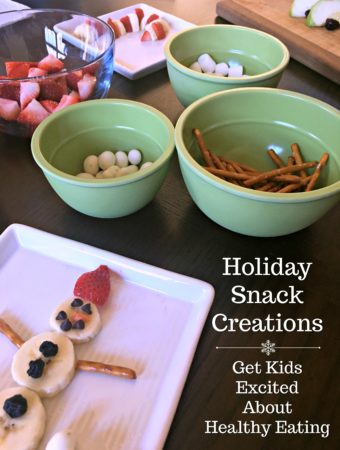 Holiday Snack Creations: Get Kids Excited About Healthy Eating